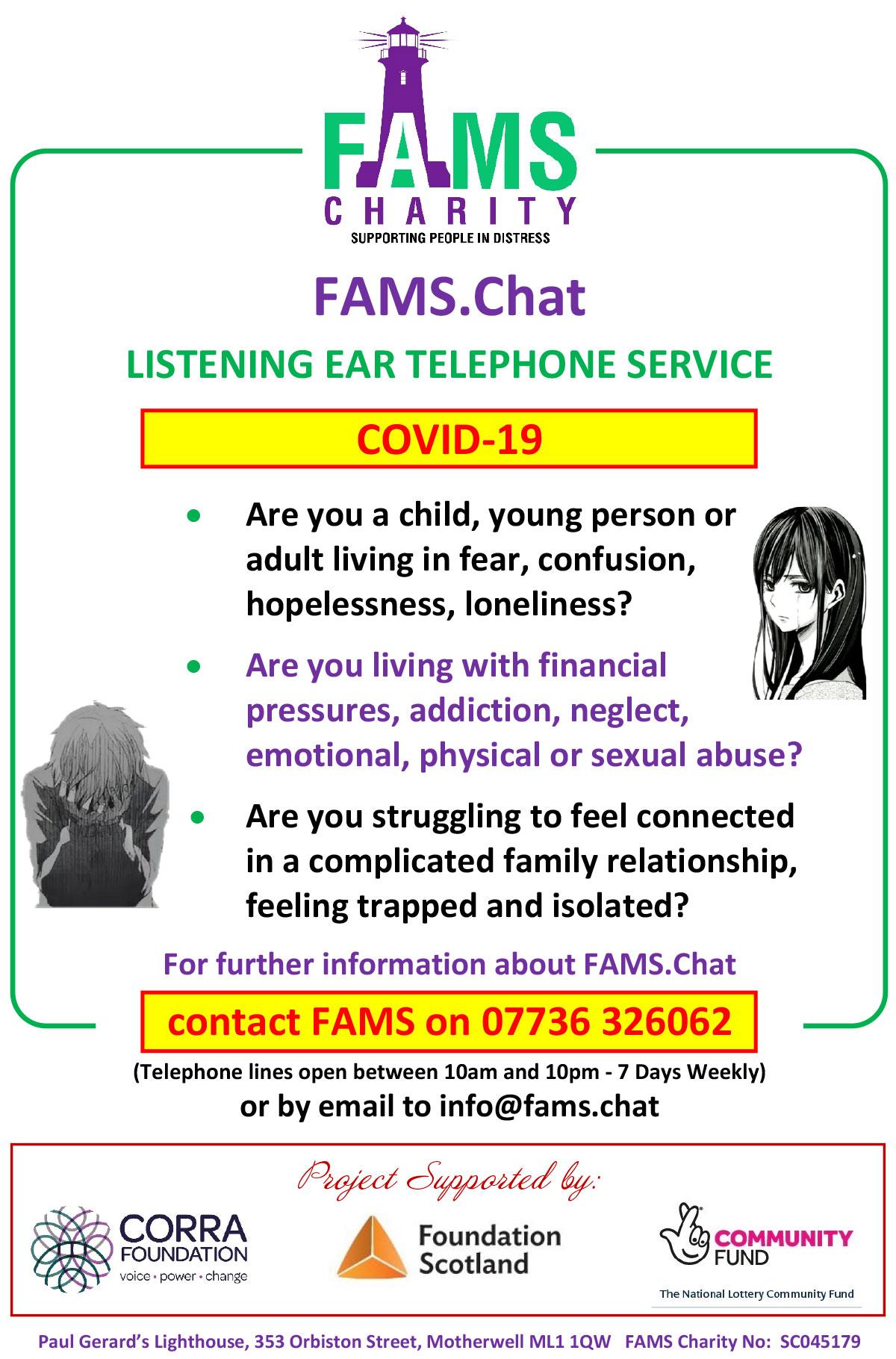 FAMS Leaflet